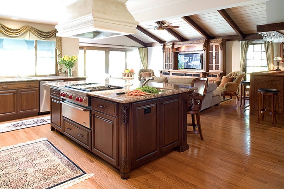 Open, Traditional Kitchen in Alamo, CA kitchen remodel
