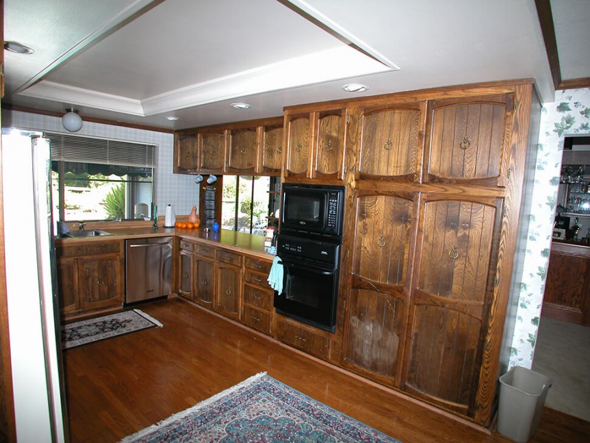 Kitchen before renovation in Alamo, CA traditional kitchen remodel