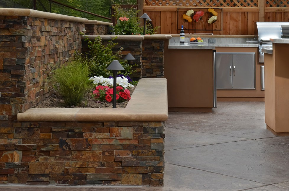 Outdoor Kitchen in Alamo, CA Backyard Design Project