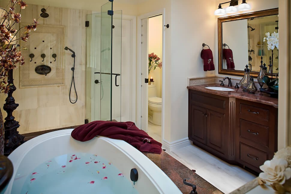 Traditional Master Bathroom Remodel In Danville Gayler Design - Bathroom remodel danville ca