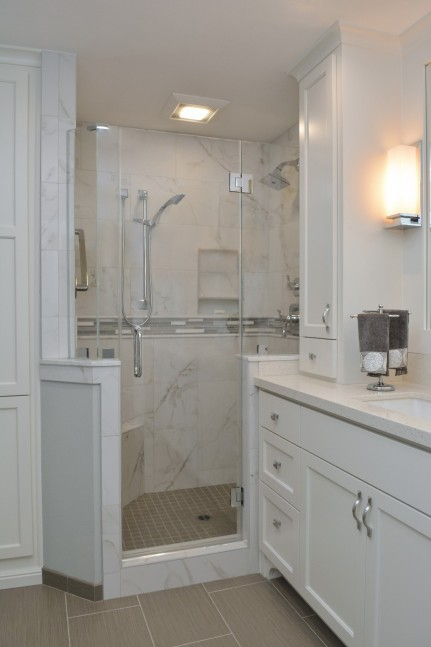 Master bathroom shower in Danville, CA Whole House Remodel & Addition