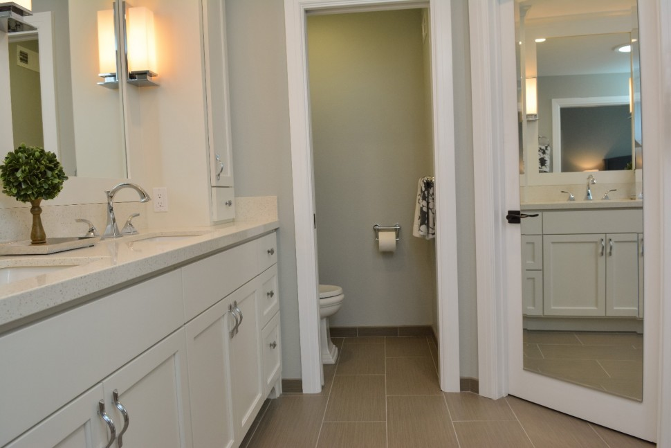 Master bathroom water closet in Danville, CA Whole House Remodel & Addition