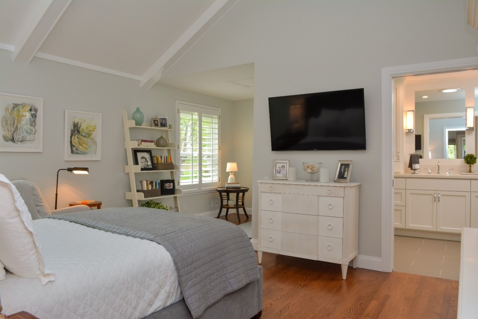 Master bedroom seating area in Danville, CA Whole House Remodel & Addition