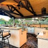 Kitchen in Diablo, CA outdoor living space remodel