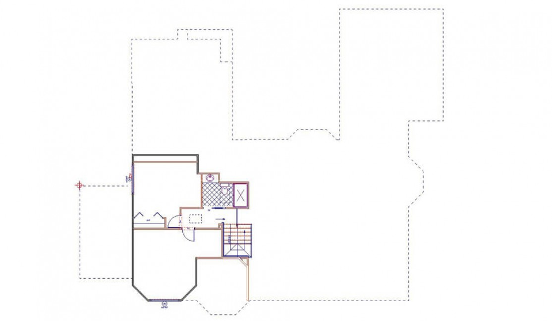 Conceptual Floor Plan - Adding 2nd Story in San Ramon, CA whole house remodel