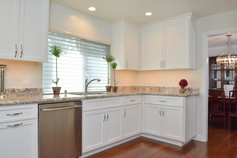 Kitchen after renovation in San Ramon, CA whole house remodel