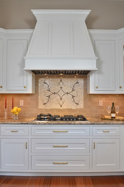Gold hardware in San Ramon, CA Galley Kitchen Remodel