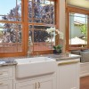 Wood wrapped windows in San Ramon, CA Galley Kitchen Remodel