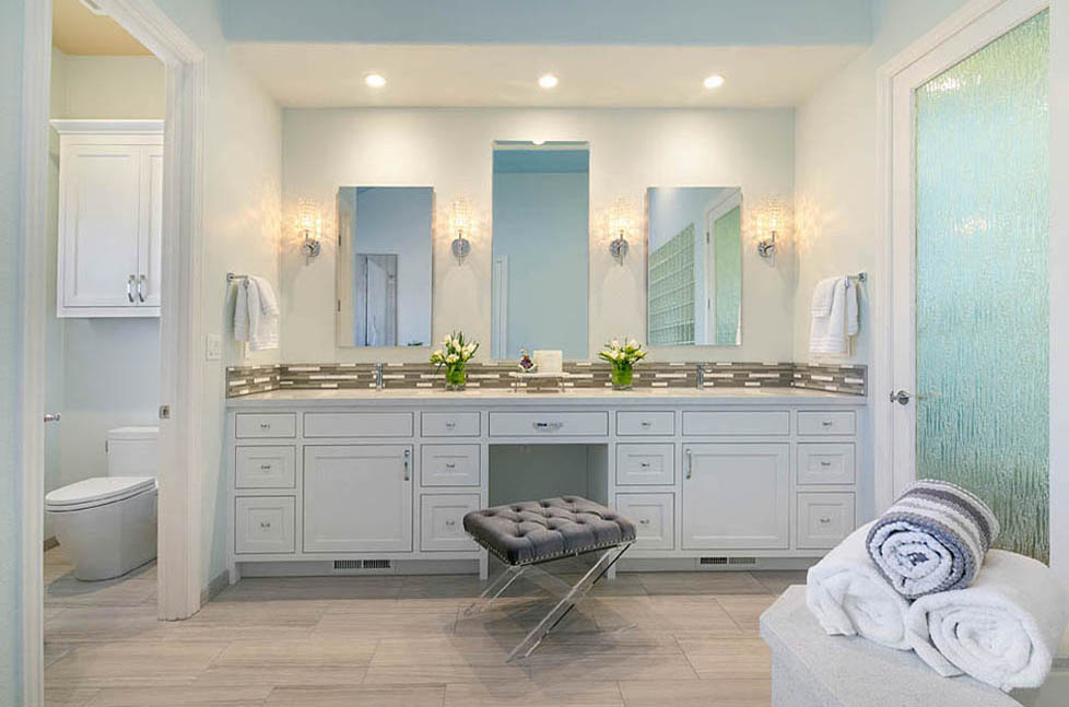 Danville Spa Inspired Master Bathroom Remodel