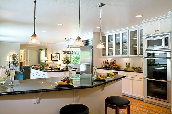 Open Concept Kitchen Remodel with Island in Alamo, CA - After Remodel