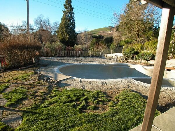 Outdoor Kitchen & Living Space Remodel in Diablo, CA - Before Remodel