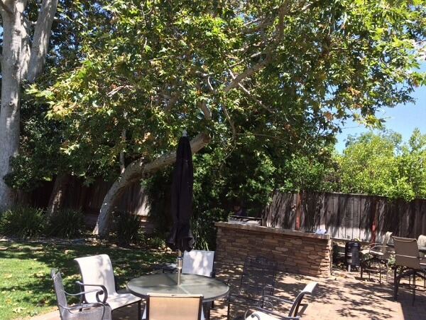 Outdoor Great Room Remodel in Pleasanton, CA - Before Remodel